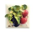 Eggplant with Beets Tile image