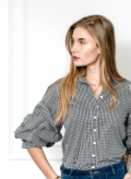The Shirt by Rochelle Behrens The Seville Shirt Black M