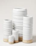 Farmhouse Pottery Trunk Vase Mini