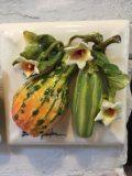$140.00 Zucchini w/ Neck Squash Tile