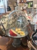 39.99 Galvanized Cheese/cake stand