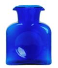 Blenko Glass Co Water Bottle/ Cobalt