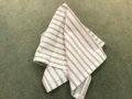 7 Tan Stripe Napkin