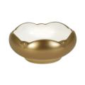 Pickard Signature Metropolitan Gold Tulip Bowl