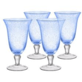 11.5 Iris Ice Tea Goblet Lt Blue