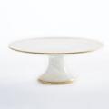 Badash Cake Pedestal - Alabaster & Gold