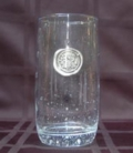 $16.50 Iced Tea Glass with Initial