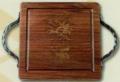 Maple Leaf at Home Board Walnut 14X14