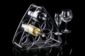 45 Wine Rack 6 Bottle Lucite