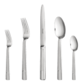 222 Hudson 5 Piece Place Setting Stainless