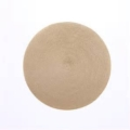 $19.00 Tan Round Placemat