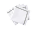 135 Lowell Silver Napkins - Set of 4