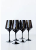 175 Wine Glass (Set of 6) Black 9.5
