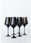 175 Wine Glass (Set of 6) Black 9.5