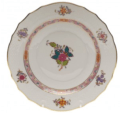 126.5 Chinese Bouquet Multicolor Dessert Plate