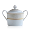 $225.00 Sauvage White Covered Sugar Bowl