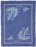 $38.00 Kitchen Towel - Sailboat Blue (23