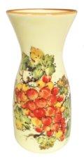 $65.00 Vineyard Red Grapes Carafe/Vase 3.5
