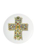 """Vista Alegre Christian Lacroix - Love who you want Dessert Plate """" Lacroix Lacroix !"""""""
