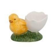 Bordallo Pinheiro Egg Cup Egg holder with chicken
