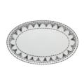 Casa Alegre Nero Oval Platter