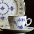 Royal Copenhagen Blue Fluted Plain Bread and Butter Plate