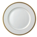 $85.00 Athena Gold Dinner Plate