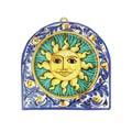 VIETRI First Stones Sicilian Sun Wall Plaque