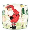 Square Platter - Golfing