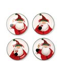 Cocktail Plates - Set of 4