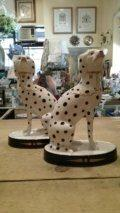 $575.00 Pair of Dalmatians Stafford Shire Dogs
