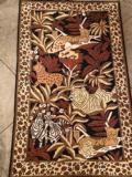 275 Animal Kingdom Wool / Cotton Rug