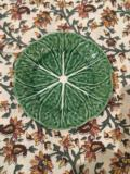 27.5 Cabbage Green Ceramic Salad Plate