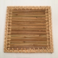 William-Wayne & Co. Exclusives Straw and Rattan Trivet / Luncheon Mat