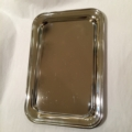 William-Wayne & Co. Exclusives Small Nickel Plated Rectangle Tray
