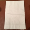 William-Wayne & Co. Exclusives White Linen Table Cloth 72 X 72