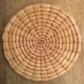 $25.00 Coiled Seagrass Place Mat