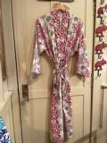 William-Wayne & Co. Exclusives Red Coral Robe