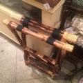 William-Wayne & Co. Exclusives Tortoise Bamboo Luggage Rack