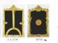 $80.00 Sm. Rect. Frame/ Metal Back 2 x 2 7/8