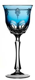 Sky Blue Water Glass