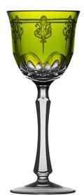 Yellow/Green Wine Glass
