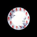 Bloomy Feathers Dessert Plate