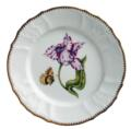 Pink & White Tulip Salad Plate