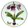 Raspberry Lily Dinner Plate