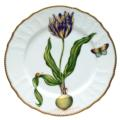 Yellow & Purple Tulip Dinner Plate