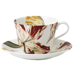 Botanical Tulips Tea Cup