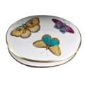 Exotic Butterflies Round Covered Dish