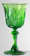 Green Wine Glass