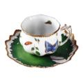 Ruffled Cup & Saucer